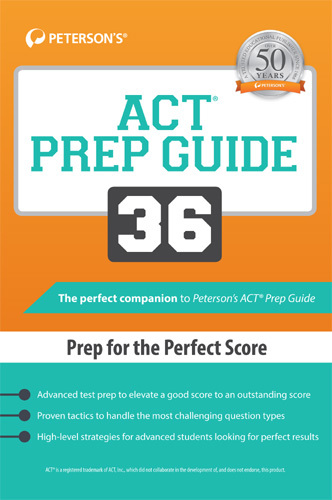 Peterson's ACT Prep Guide 36