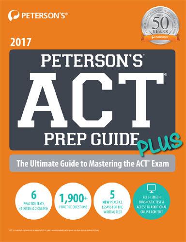 ACT Prep Guide Plus 2017